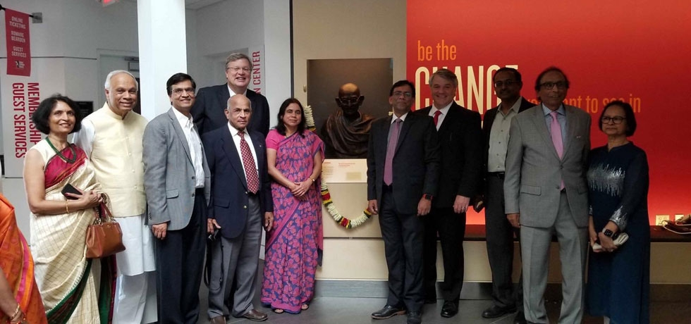 150th Gandhi celebrations at Memphis National Rights Museum & unveiling of 'Gandhi Way'