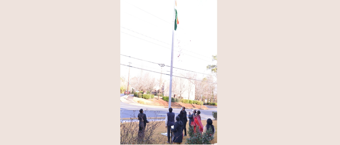 72nd Republic Day of India was celebrated in the Consulate premises. Here are few glimpses of the event.